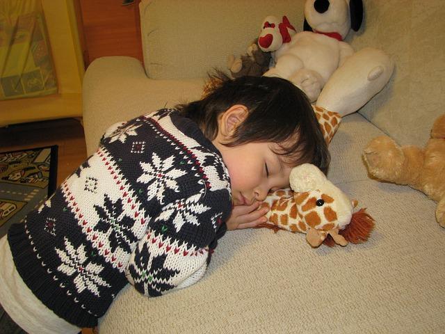 spaní s plyšákem