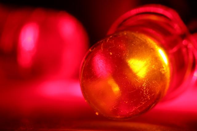 červené diody